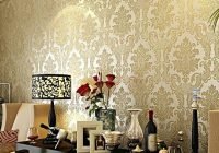 How to Use Wallpaper to Highlight Shelves
